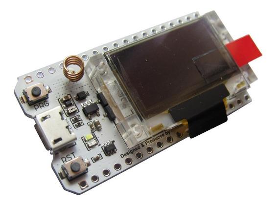 Lora Esp32 Sx1278 Com Display Oled Wifi Bluetooth 433mhz