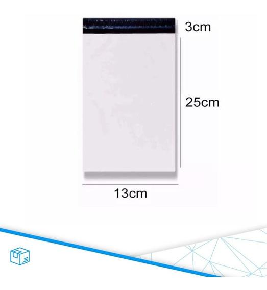 1000 Und Saco Plastico Com Lacre 13x25