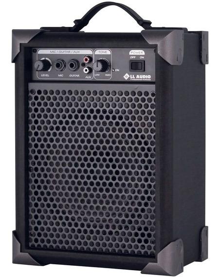 Caixa Amplificada Ll Lx 40 Cubo Guitarra Violão Microfone Pc