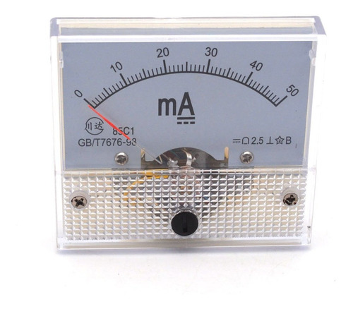 Ampere Panel Meter Class . Accuracy Dc Ma Analog Ammet...