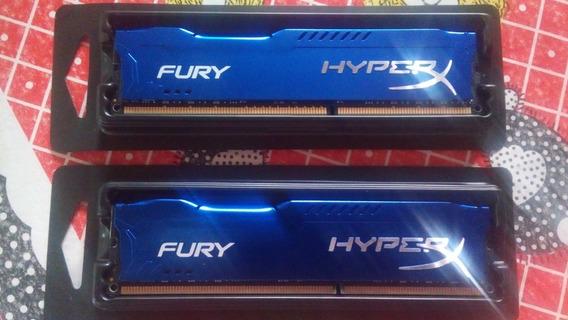 Memoria 16 Gb (2x8) Ddr3 Hyperx 1333 Novas R$ 350 Leia!