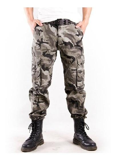 Hombres Militar Pantalones Al Aire Libre Excursionismo Monta