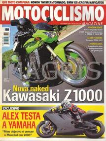 Frete Grátis Motociclismo 12/2002 Z1000, Twister, Tornado, R