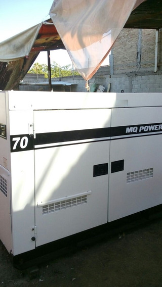 Generador Planta De Luz Mq Power 70 Kva Motor Isuzu 4 Cil.