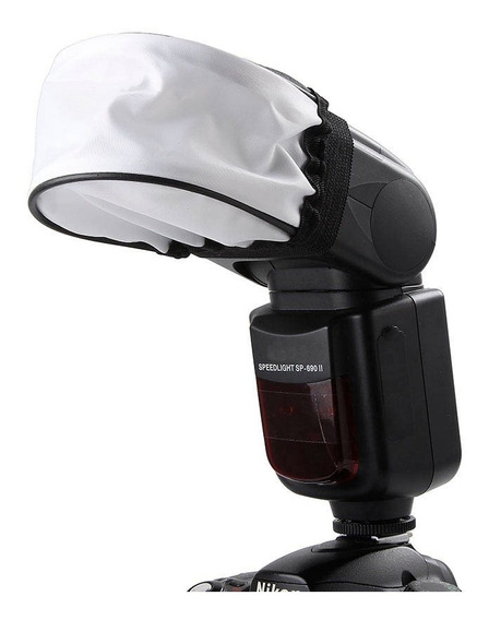 Difusor Para Flash Speedlight Nikon, Canon,(caixa Softbox)