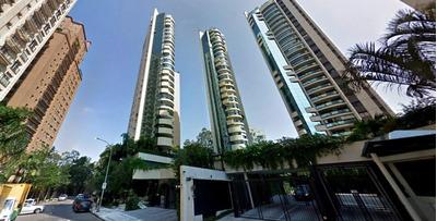 Apartamento Residencial À Venda, Alto Padrão, Rua Deputado Laércio Corte, Panamby, São Paulo - Ap14354. - Ap14354