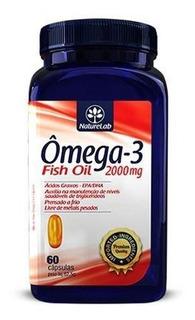 Omega 3 - 2000mg - 60 Capsulas - Nature Lab