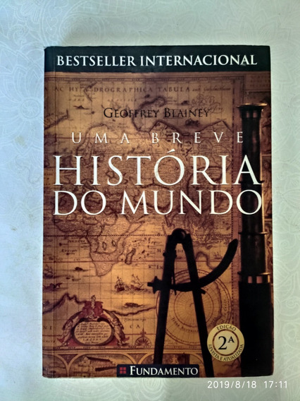 Livro - Uma Breve História Do Mundo