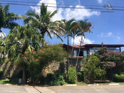Imagem 1 de 30 de Casa Residencial À Venda, Condomínio Country Club, Arujá - Ca0345. - Ca0345