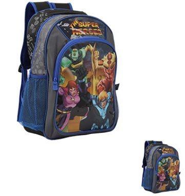 Mochila Masculina Infantil Escolar Super Heroes Original