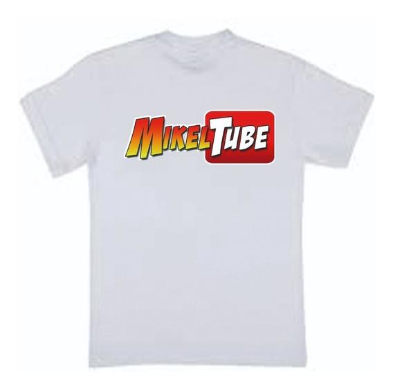 Remera Mikel Tube - Leo Tube - Youtubers - Por Mayor-por 10