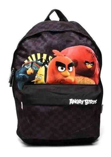Mochila Infantil De Costa Resistente Masculino Angry Birds