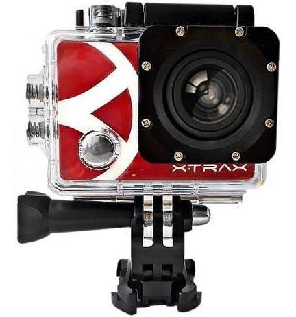 Filmadora Ação Xtrax Smart 4k + 20 Acessórios Estilo Go Pro