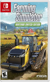 Jogo Lacrado Farming Simulator Nintendo Switch Edition