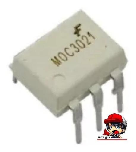 10 Moc3021 Optoacoplador Foto Pra Arduino Rele Ssr Sem Nf