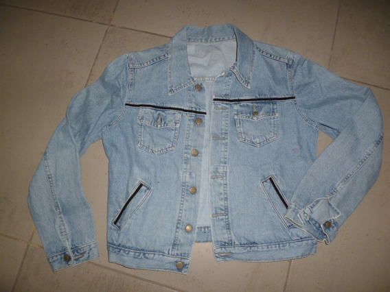 Campera Jeans Mujer