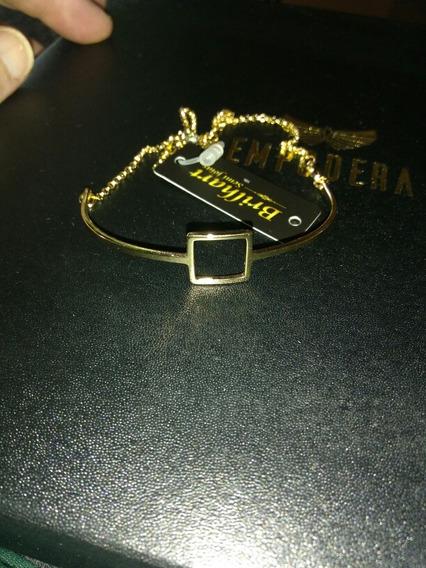 Pulseira Pandora Lisa De Ouro 18