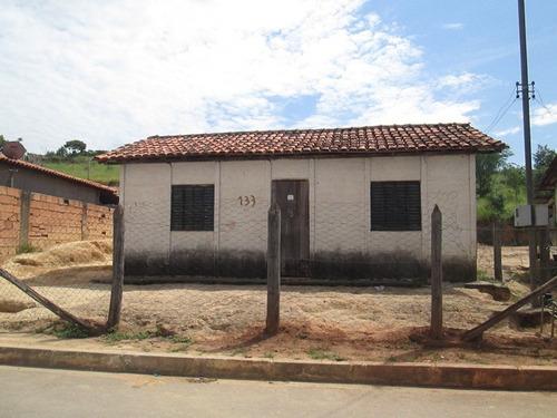 Casa Com 2 Quartos Para Comprar No São Vicente Em Santa Bárbara/mg - 2476