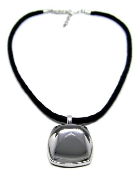 Gargantilla Baccarat Seda Cristal Baccarat Autentico Plata