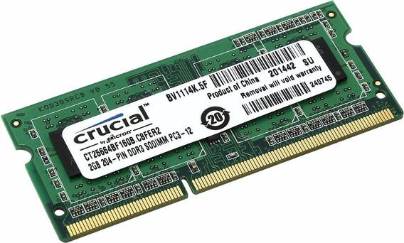 Memoria Ram De Laptop Ddr3 2 Gb