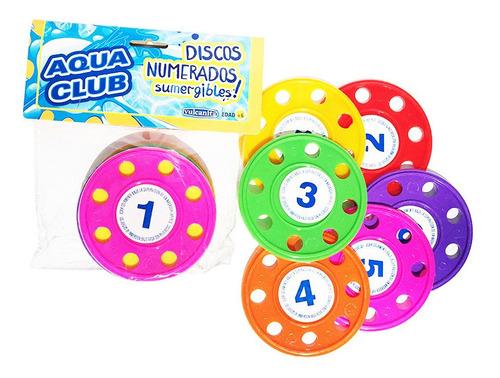 Set 6 Discos P/buceo Int 8923 Aqua Club Vulcanita