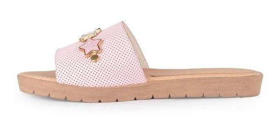 Zuecos Zapatos Chatitas De Mujer De Cuero Ada - Ferraro