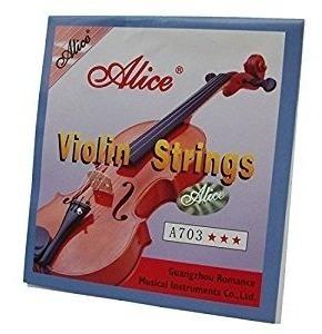 Cuerdas Individuales Para Violín Sol Re La Mi Marca Alice