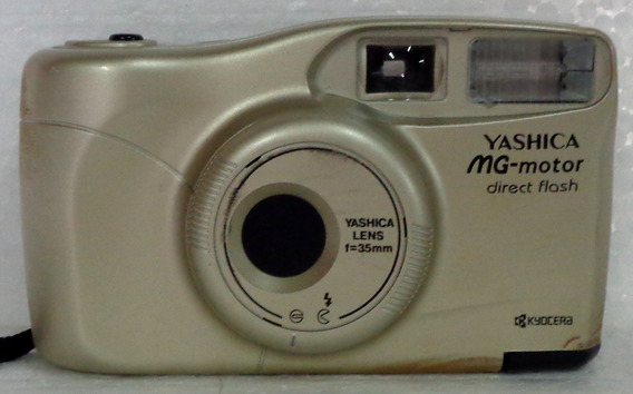 Camera Fotogafica Yashica Mg-motor No Estado Que Se Encontra
