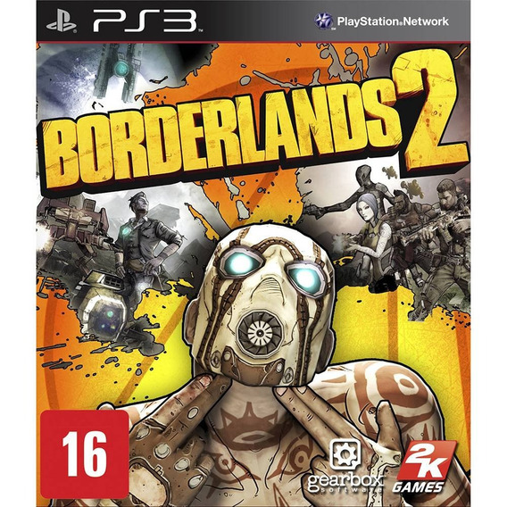 Borderlands 2 Ps3 Midia Fisica Lacrado