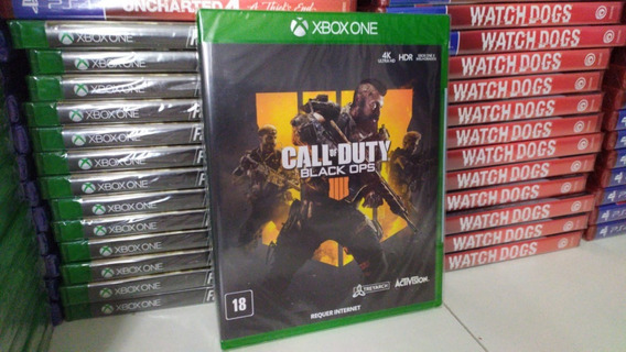 Call Of Duty Black Ops 4 Xbox One Mídia Física Português