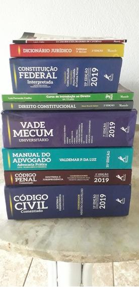 Kit De Livros De Curso De Direito