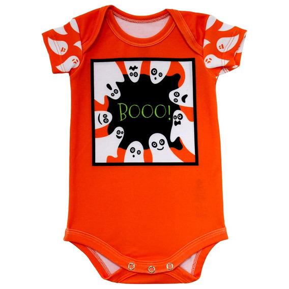 Body Bebê Estampado Boo - Isabb