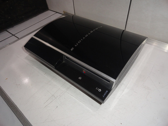 Ps3 Fat Console Cechl11 Defeito 3 Bips Lacrado Sony C14