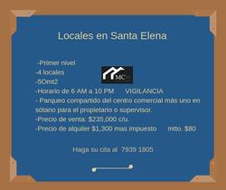 Local En Santa Elena