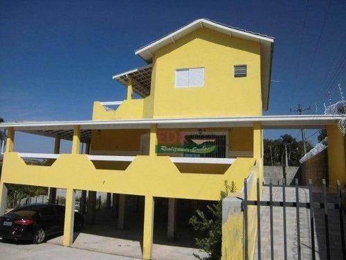 Imagem 1 de 10 de Chácara Com 4 Dormitórios À Venda, 3480 M² Por R$ 1.145.000,00 - Guamirim - Caçapava/sp - Ch0808