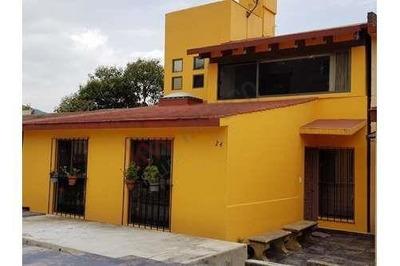 Casa En Venta Magdalena Contreras Fraccionamiento Privado