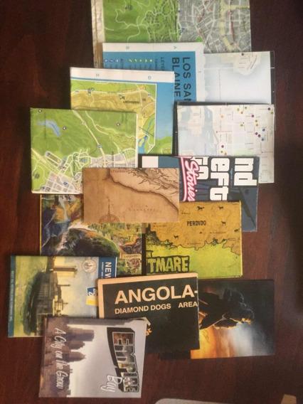 Mapas Y Posters Originales Gta Y Otros Videojuegos Envíos