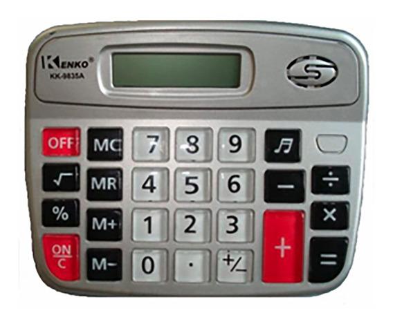 Calculadora Kenko Kk9835a De Mesa 08 Dígitos