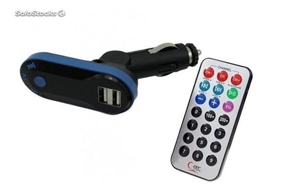 Transmisor Modulador Fm Inalambrico Para Coche Caragador Usb