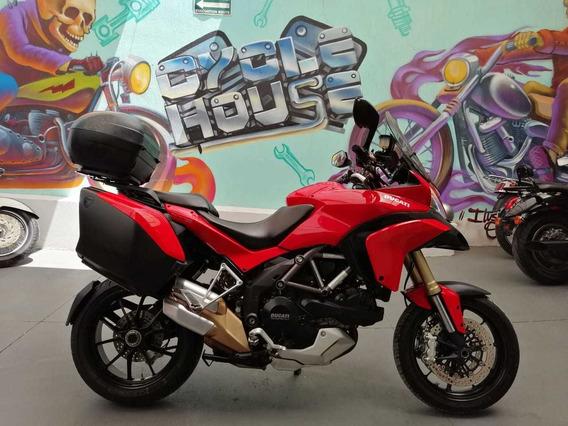 Ducati Multistrada 1200 Abs 2011 Titulo Limpio Checala!!