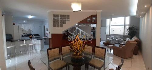 Imagem 1 de 30 de Sobrado Com 3 Dormitórios À Venda, 323 M² Por R$ 849.000,00 - Jardim São Paulo - Rio Claro/sp - So0084