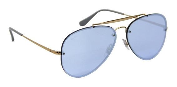Óculos De Sol Ray Ban Rb 3584 Aviador Blaze Masculino
