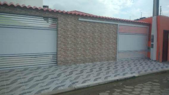 Casa Lado Praia No Cibratel 2 Escriturada-itanhaém 4242 npc