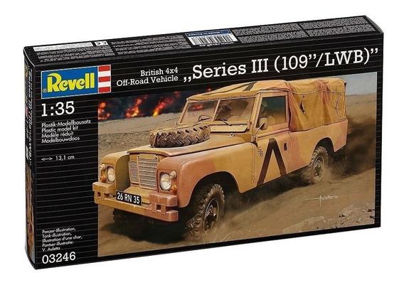 British 4x4 Off-road Vehicle 109 Lwb 1/35 Revell 03246