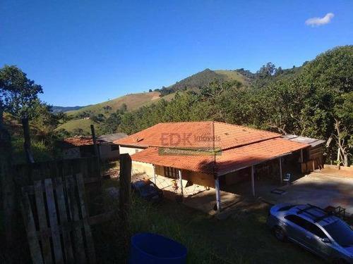 Imagem 1 de 12 de Chácara Com 4 Dormitórios À Venda, 17000 M² Por R$ 371.000,00 - Zona Rural - Monteiro Lobato/sp - Ch0185