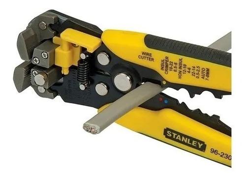Imagen 1 de 4 de Pinza Pela Corta Cables Automático Auto Ajustable Stanley