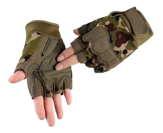 Guantes Tácticos Fitness Gym Crossfit Moto Hombre Militar