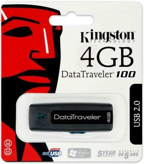 29 Pendrive Kingston 4gb Novo Para Atacado