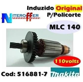 Induzido Original P/policorte Mlc 140 110v Makita