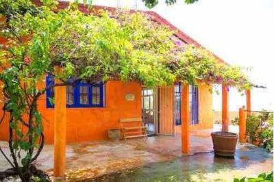 Casa Sola, Estilo Colonial, Vista Panorámica, Tepoztlán, Morelos,